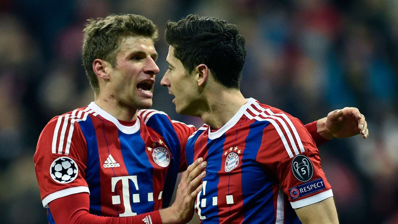 Robert Lewandowski Shakhtar Donetsk Bayern Munich Champions League 11042015