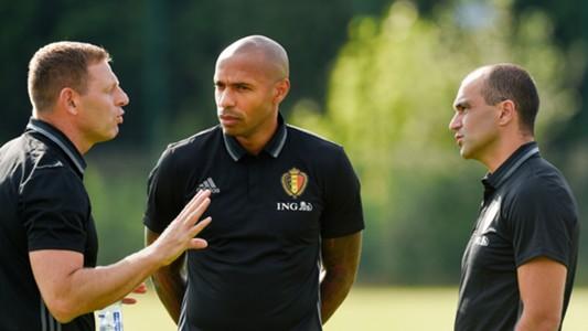 Thierry Henry Roberto Martinez