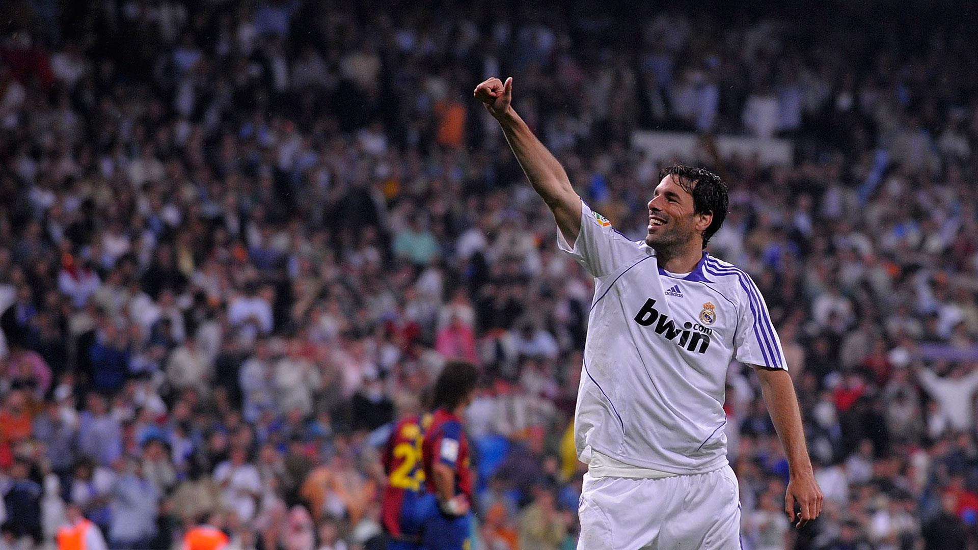 Ruud van Nistelrooy Real Madrid Barcelona