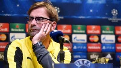 Jurgen Klopp Dortmund Champions League December 08 2014