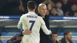 Cristiano Ronaldo Zidane Real Madrid Club World Cup