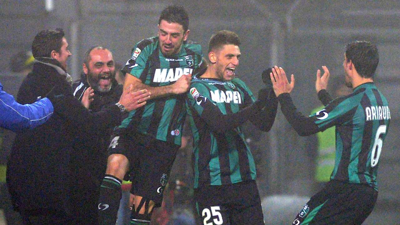Domineco Berardi Sassuolo January 12 Serie A