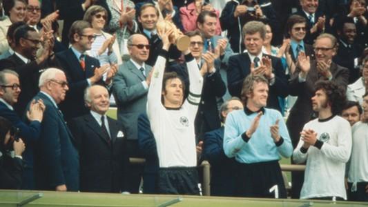 Franz Beckenbauer West Germany World Cup 1974