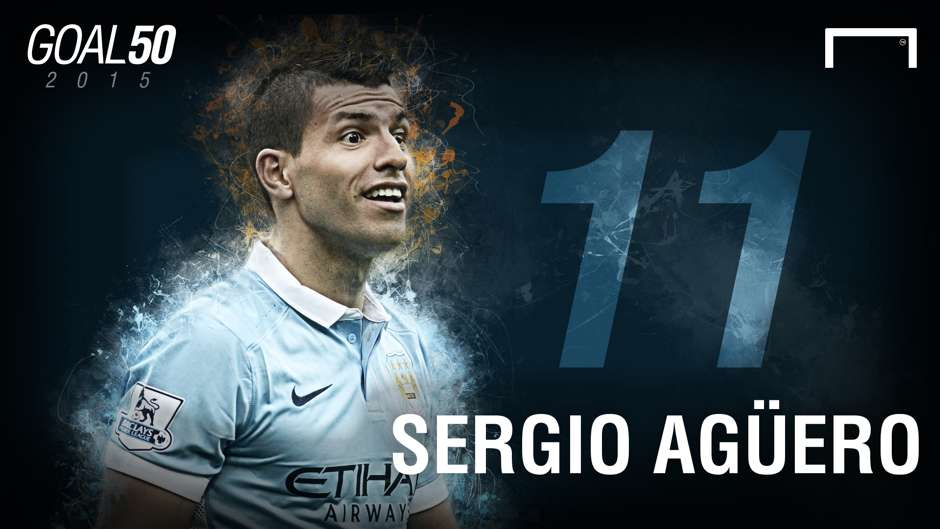 11 Sergio Aguero G50