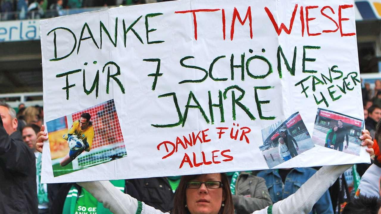Tim Wiese Werder Bremen banner