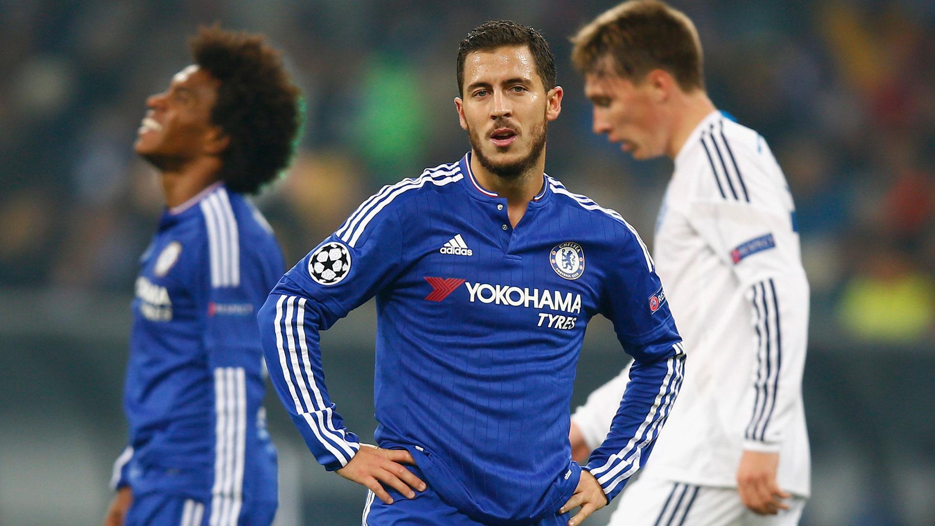 Eden Hazard Chelsea Dynamo Kiev