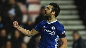Cesc Fabregas Premier League Sunderland v Chelsea