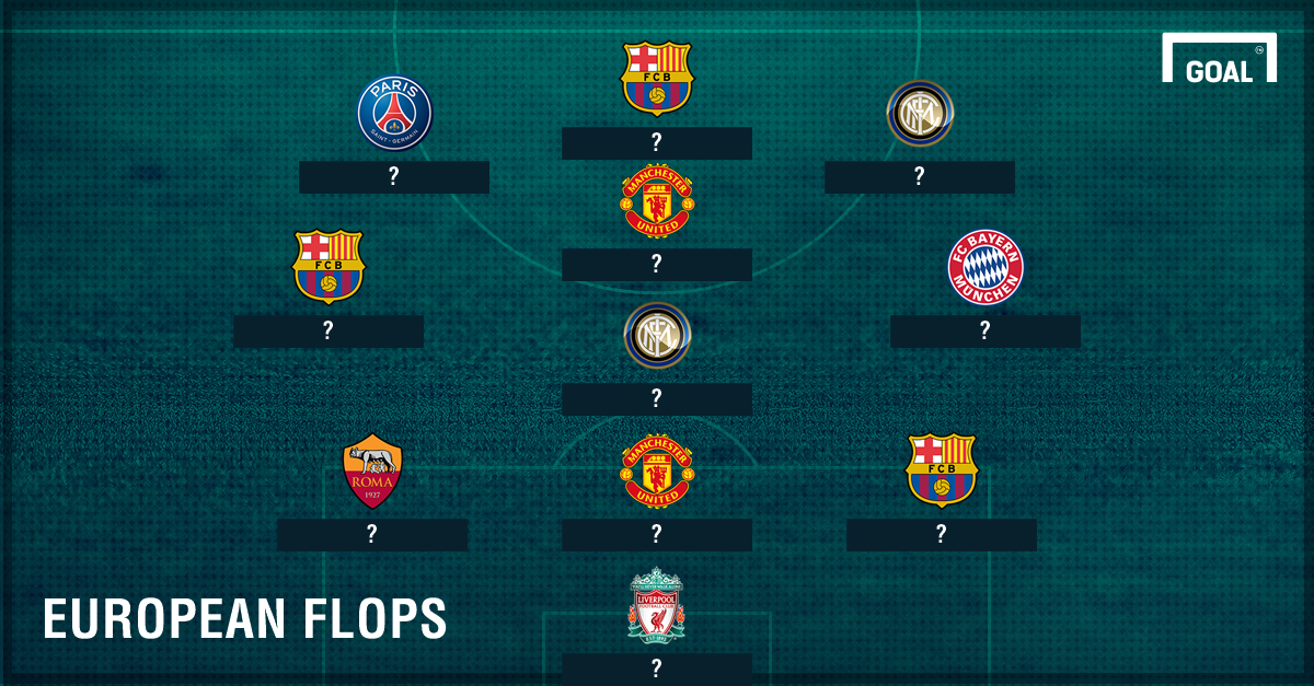 European Worst team of the season PS