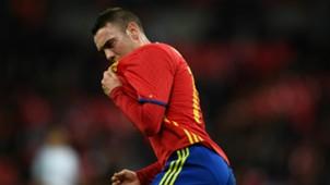 Iago Aspas Spain England 2016