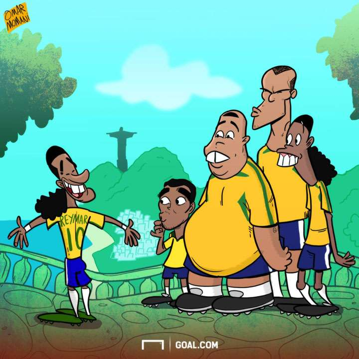 CARTOON Neymar to Reymar