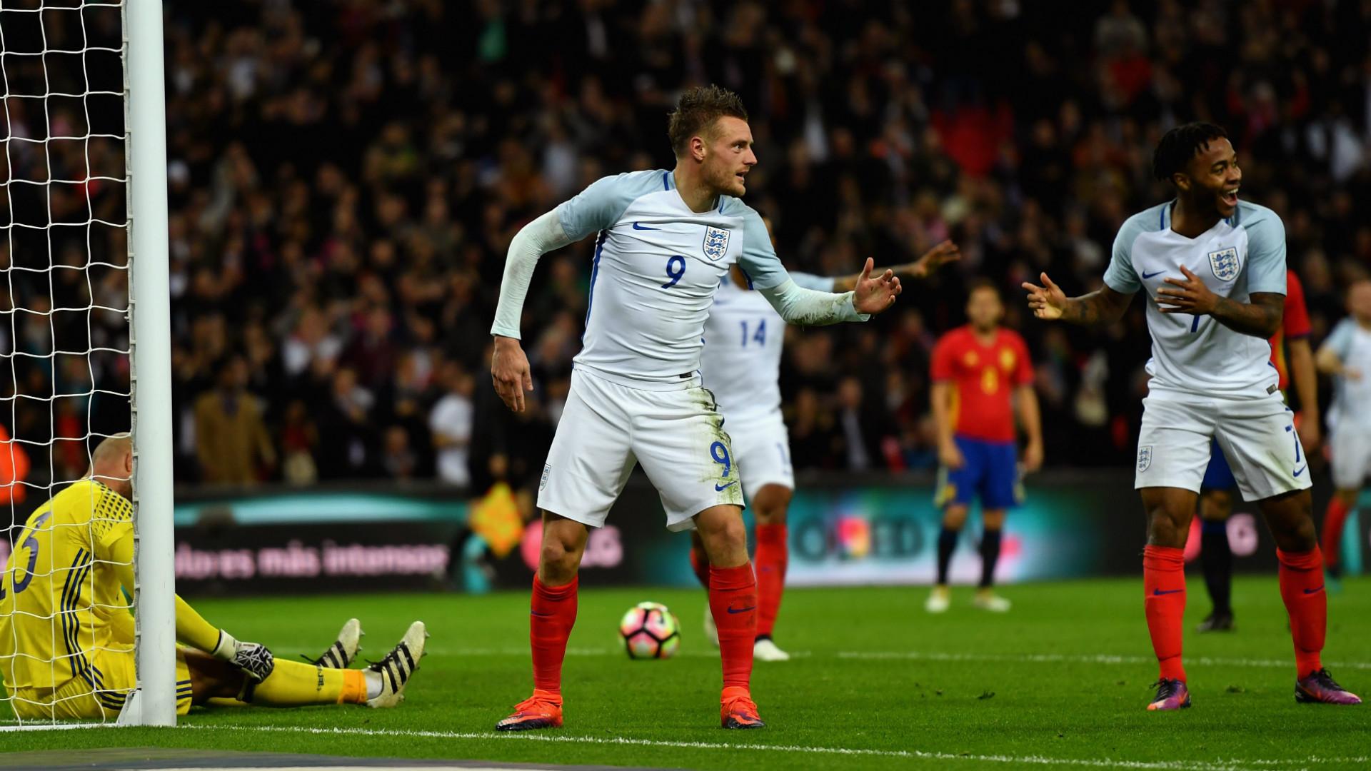 Jamie Vardy England 2016