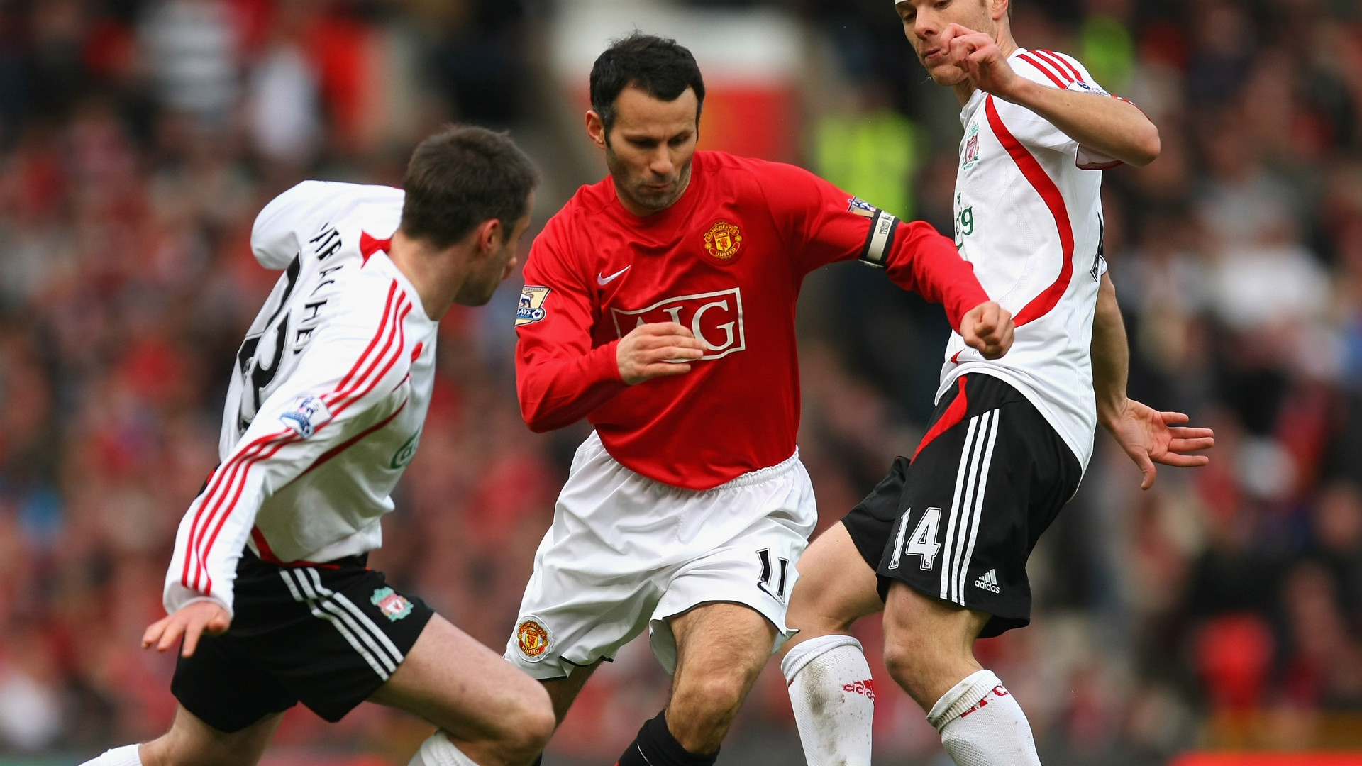 Carragher's Man Utd XI Ryan Giggs