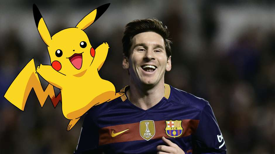 Footballers as Pokemon