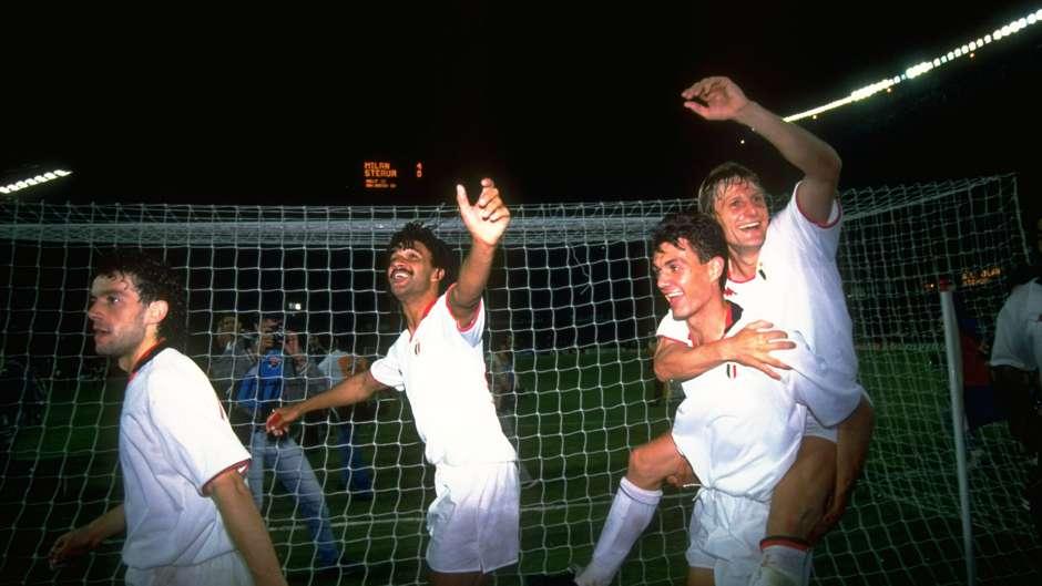 Paolo Maldini AC Milan European Cup