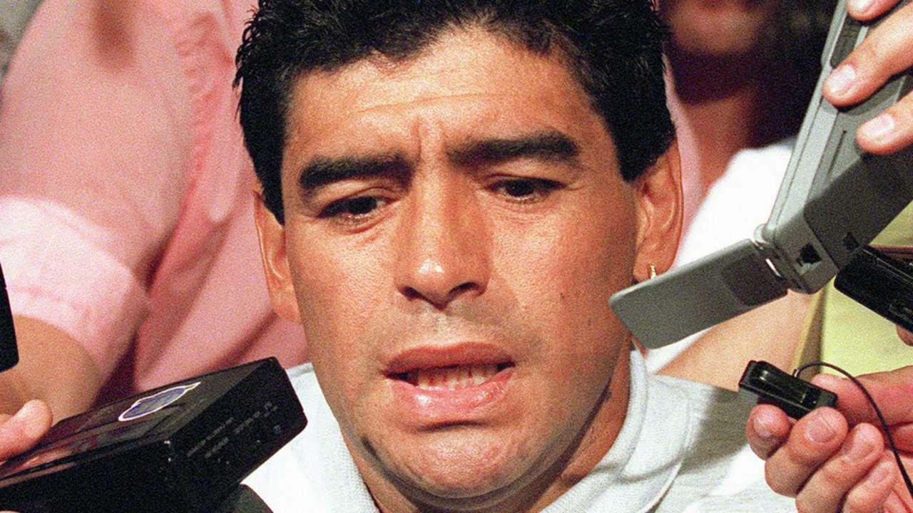 HD Diego Maradona doping
