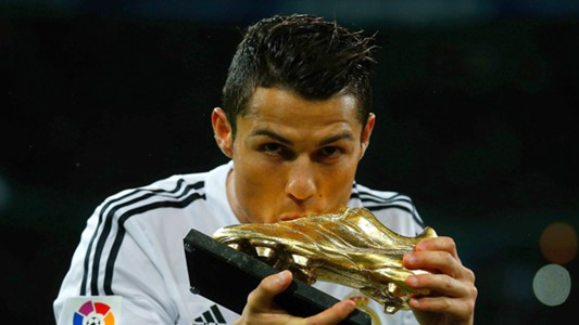 Cristiano Ronaldo Real Madrid Golden Shoe
