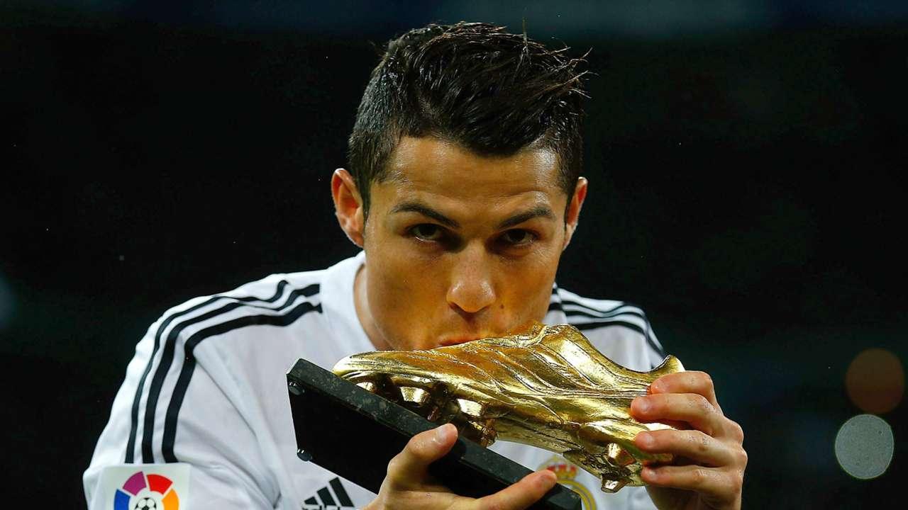 Cristiano Ronaldo Real Madrid Golden Shoe