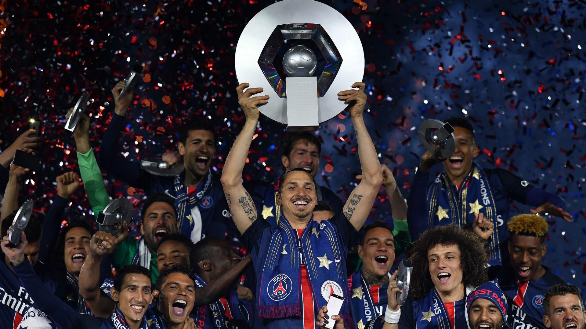 HD Ibrahimovic PSG Ligue 1 title