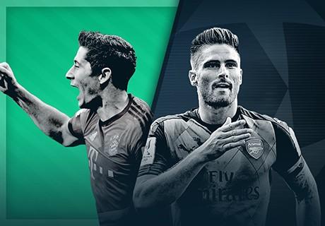 GFX UCLHP Bayern Munich Arsenal Champions League live 04112015