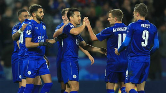 HD Leicester City celebrate