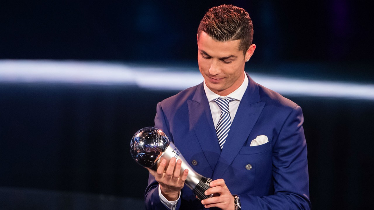 Cristiano Ronaldo Best FIFA Men's Award 09012017