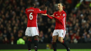 Pogba Ibrahimovic Manchester United