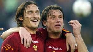 Francesco Totti Antonio Cassano Roma