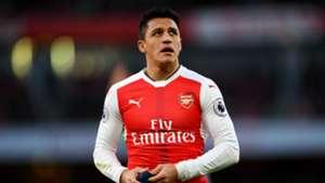 Alexis Sanchez Premier League Arsenal v West Brom 261216