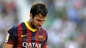 Cesc Fabregas Barcelona 2014