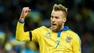 Andriy Yarmolenko Ukraine Slovenia 14112015