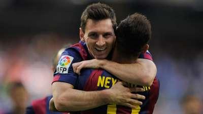 Lionel Messi Neymar Barcelona