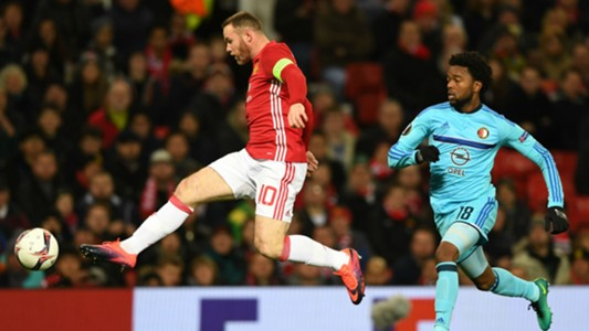 Wayne Rooney Europa League Manchester United v Feyenoord 241116
