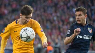 Lionel Messi Lucas Hernandez Barcelona Atletico Madrid 05042016