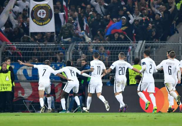 Basel 1-2 Paris Saint-Germain: Late Meunier strike sends Emery's men through