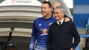Jose Mourinho & John Terry Chelsea v Man Utd 231016