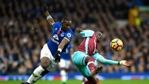 Yannick Bolasie Premier League Everton v West Ham 301016