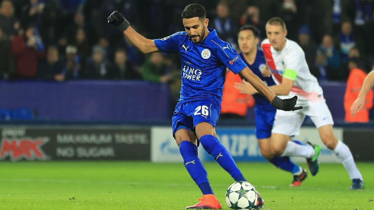 Mahrez Leicester Brugge