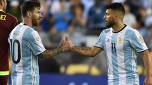 Lionel Messi and Sergio Aguero