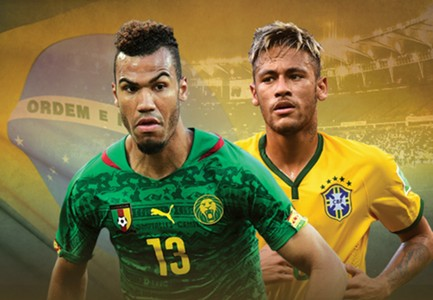 GFX FWC Cameroon Brazil 2014 World Cup Group A Live