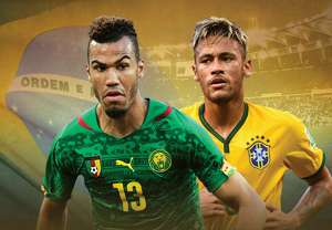 African champions Cameroon to face Brazil in international friendly in London