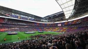 Wembley Stadium General View Champions League final 2011