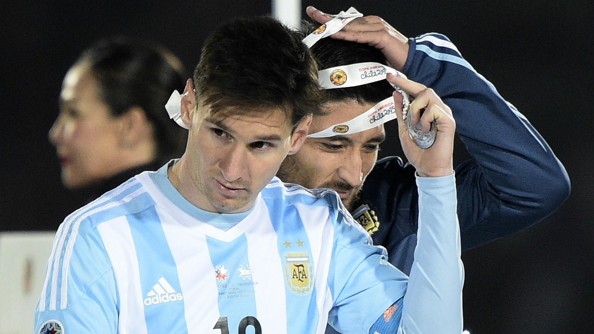 Lionel Messi Argentina Copa America 04072015