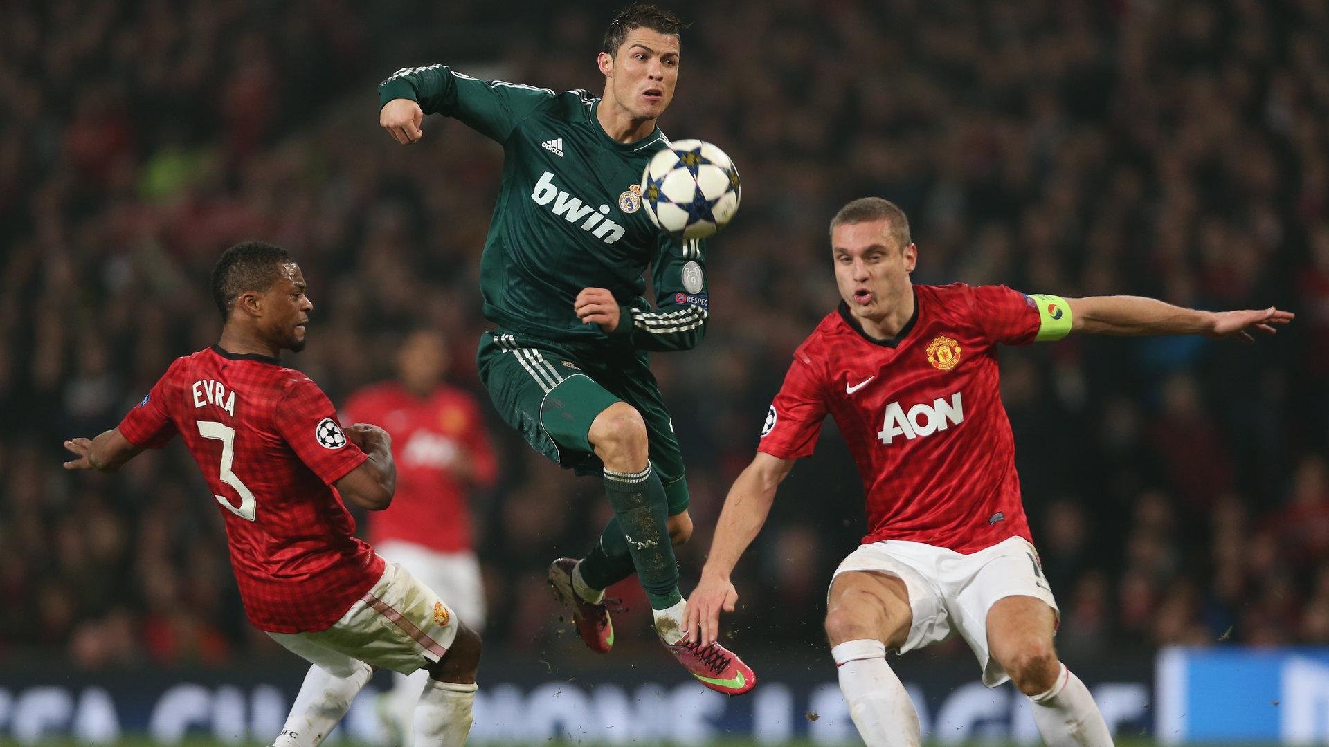 Cristiano Ronaldo Real Madrid Manchester United Champions League