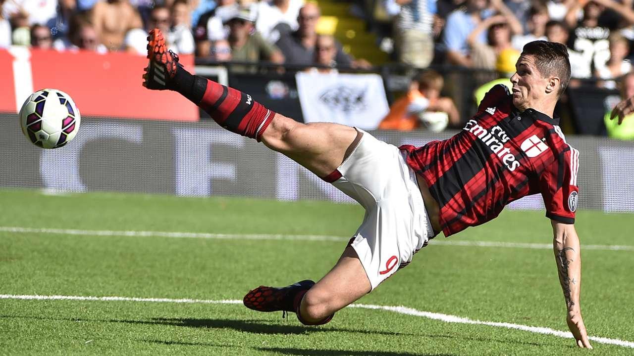 Fernando Torres AC Milan Serie A 28092014