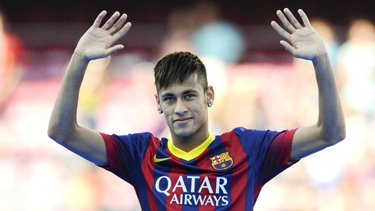 Neymar Barcelona Camp Nou 2013