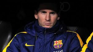 Messi Clasico bench