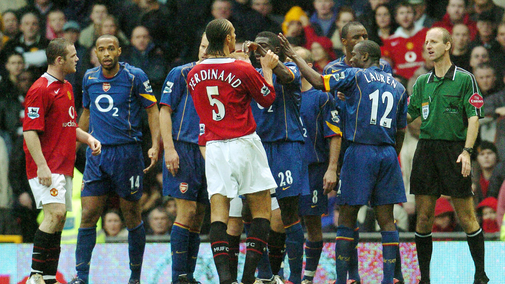 Manchester United Arsenal 2004