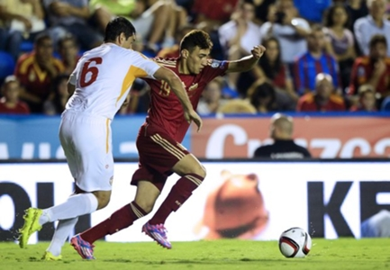 Spain's Munir El Haddadi eyes Morocco spot at Russia 2018