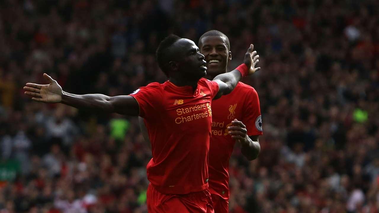 Sadio Mane Premier League Liverpool v Hull City 240916