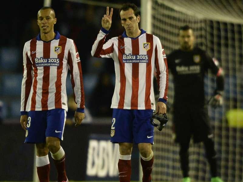 Atletico Madrid won't give up in La Liga, warns Godin